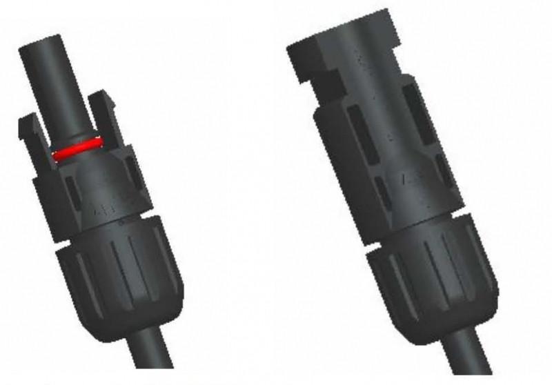 Коннектор соединительный MC4 (пара)