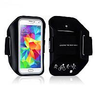 Чехол на руку Baseus Armband Sports black для iPhone 6/6s/Galaxy S5