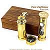 Подарочный набор подзорная труба компас песочные часы James Cook NTS5258, фото 3