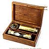 Подарочный набор подзорная труба компас песочные часы James Cook NTS5258, фото 4