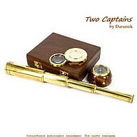 Научный набор подзорная труба компас лупа Francis Drake NTS5273
