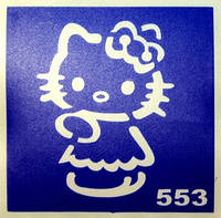 Трафарет для био-тату 6х6 (№553-1)