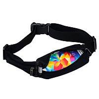 Спортивная сумка на пояс Baseus Digital black universal