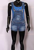 Комбинезон джинсовый с шортами