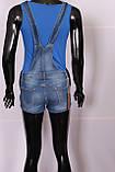Комбинезон джинсовый с шортами, фото 4