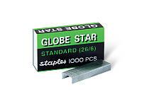 Скоба для степлера №26/6 GLOBE STAR