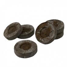 Торфяные таблетки Jiffy d-24 мм (в сеточке)