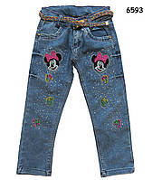 Джинсы Minnie Mouse для девочки., фото 1