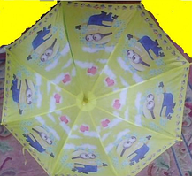 Зонт миньон 47-45-rzy 6 видов в пакете 45 см hn