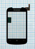Тачскрин сенсорное стекло для Lenovo A300 black
