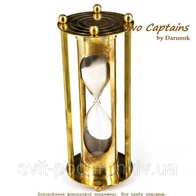 Большие песочные часы металлические на 5 минут NTS5125