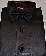 Детская рубашка черная