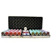 Профессиональный набор для покера 500 шт. с номинала *1*