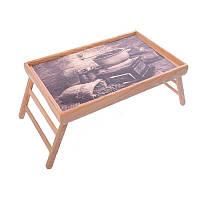 Столик для завтрака Кофемолка в ретро стиле