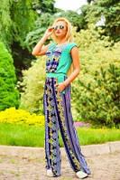 Женский стильный летний комбинезон ткань микромасло
