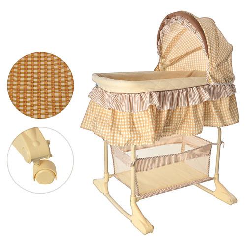 Кровать детская Bambi M 1542 коричневая