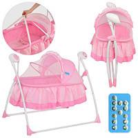 Кровать детская Bambi  M 2131-1 розовая , фото 1