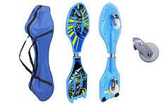 Скейтборд 2-х колесный RipStik (роллерсерф) SPIDERMAN, BATMAN SK-0330