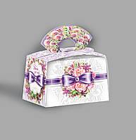 Картонная подарочная упаковка Сундучок