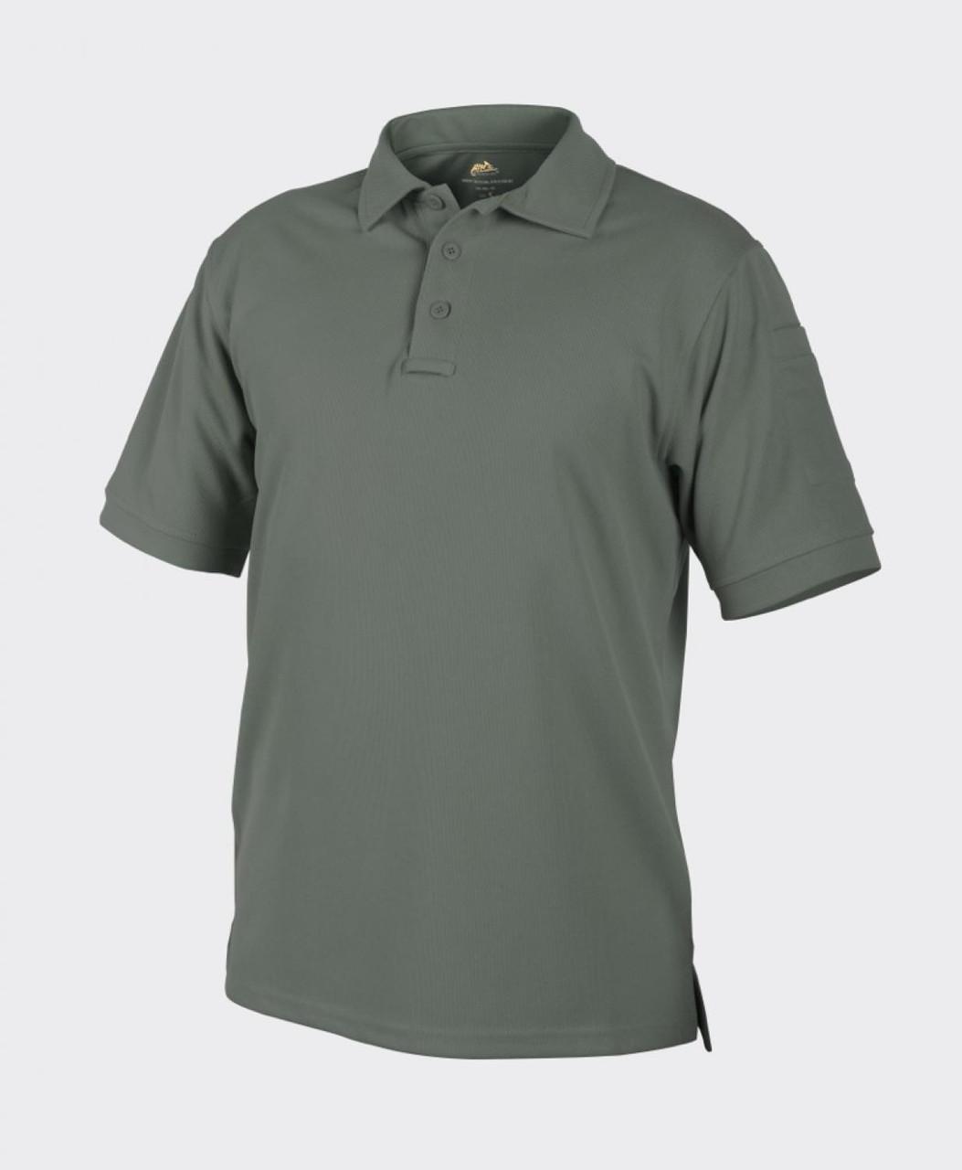 Термофутболка поло тактическая Helikon-Tex® UTL® Polo - Foliage Green