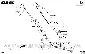 шнек загрузочный бункера  0005430923  CLAАS мега 360 (d-130+30), фото 3