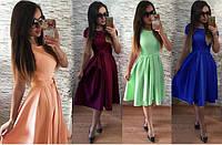 Воздушное платье в романтическом стиле