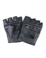 Перчатки кожаные без пальцев Sturm Mil-Tec® Black