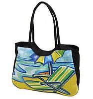 Пляжная сумка на море