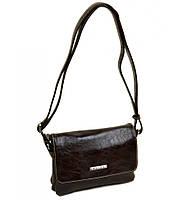 Женский клатч сумка коричневый