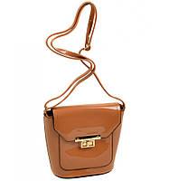 Клатч сумка женская коричневая