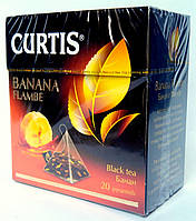 "Цейлонсикй чай Curtis ""Banana Flambe"" 20 пирамидок"