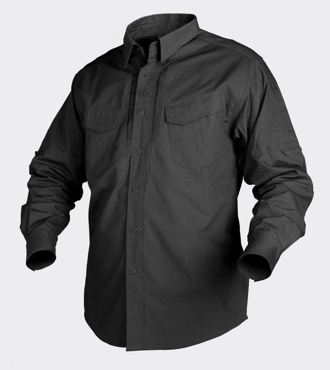 Рубашка тактическая Helikon-Tex® Defender LS - Черная