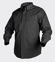 Рубашка тактическая Helikon-Tex® Defender LS - Черная, фото 1