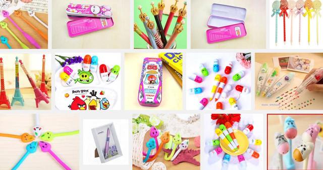 Ручки детские, наборы ручек