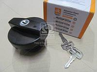 Крышка бака топливного ВАЗ нового образца пластмассовая с ключом (Дорожная Карта). 2110-1103010