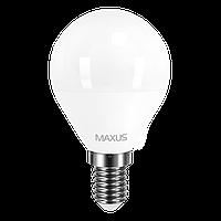 Светодиодная лампа MAXUS 4Вт G45 F E14