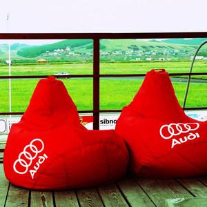 Брендированное кресло-мешок с логотипом или именем