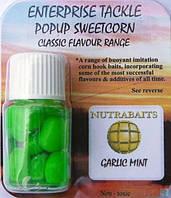 Кукуруза искусственная Pop Up Nutrabaits Garlic Mint