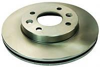 Тормозной диск передний  Renault 9/19/21 / Clio I / Kangoo / Megane (вентелируемый),