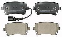 Тормозные колодки дисковые задние (С датчиком) Audi A4, A6 2.0TDI 1999- / Т5