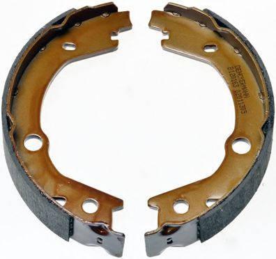 Тормозные колодки задние барабанные Hyundai Tucson 2004-, фото 2