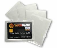 Прозрачный конвертик для пластиковой карты