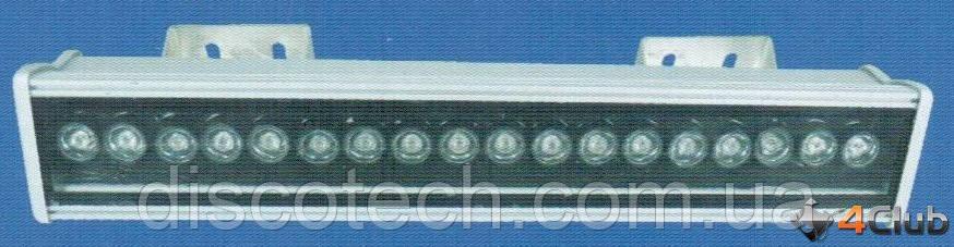 Светодиодный прожектор  LED Wall Washing Light H08N/L 18x2w RGB + remote