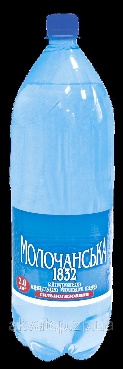 Минеральная вода 2 л. газированая