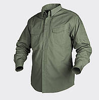 Рубашка тактическая Helikon-Tex® Defender LS - Олива, фото 1