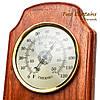 Часы оригинальные с термометром и гигрометром, фото 2