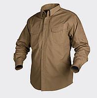 Рубашка тактическая Helikon-Tex® Defender LS - Койот