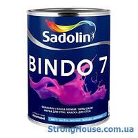 Матовая моющаяся краска BINDO 7 Sadolin ( Биндо 7 Садолин )