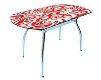 Стол стеклянный Кристал покраска