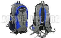 Рюкзак  спортивный, городской, для ноутбука, 35l (grey-blue), фото 1